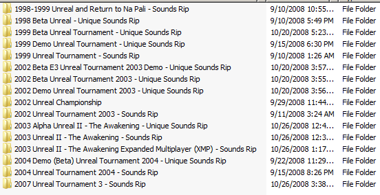Unreal Series Complete Music Collection   Page 3   BeyondUnreal Forums